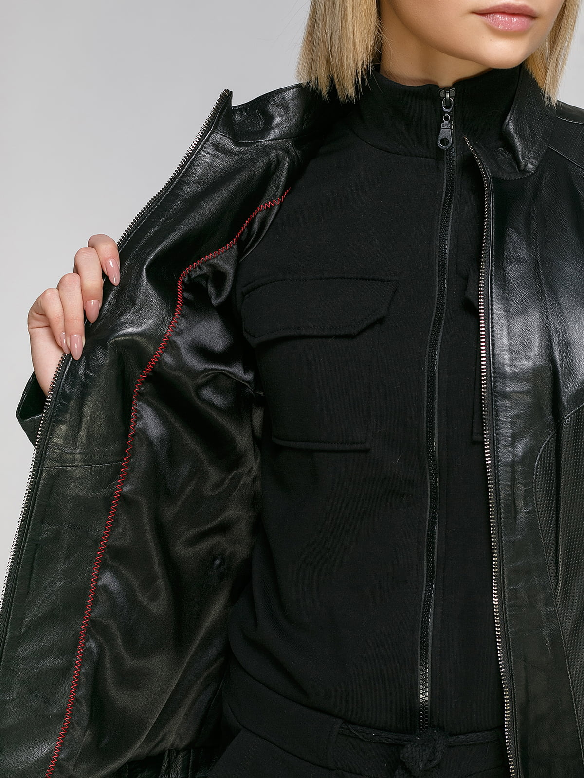 Куртка чорна | 4906719 | фото 4