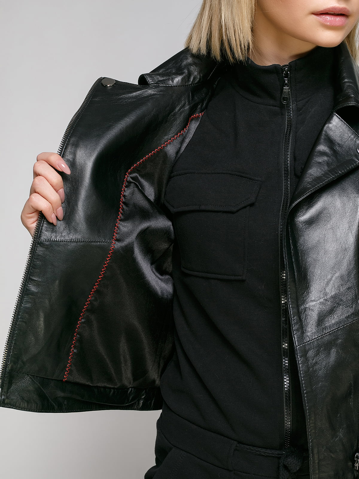 Куртка чорна | 4906727 | фото 4