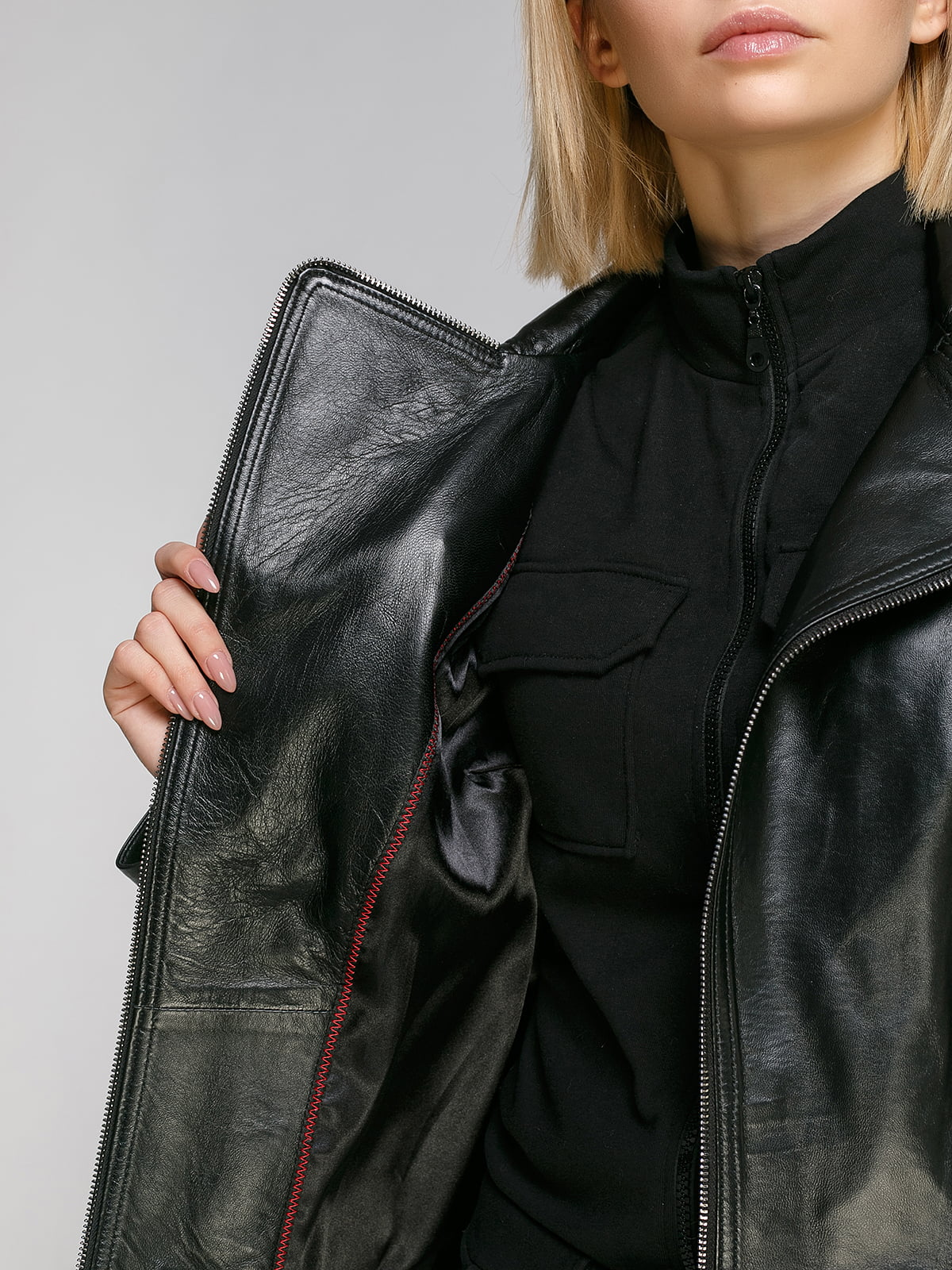 Куртка чорна | 4906731 | фото 4
