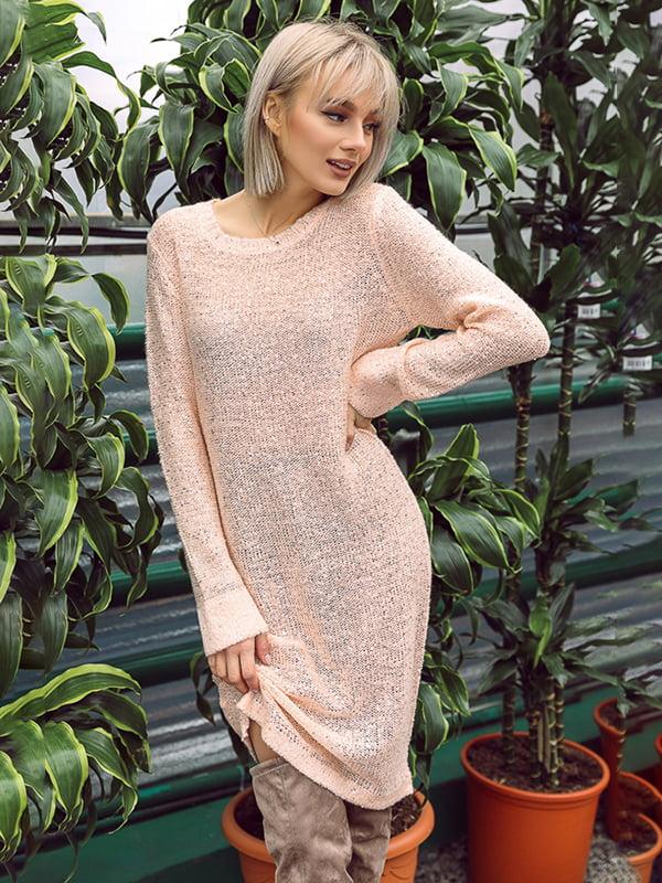 Платье персикового цвета   4839680