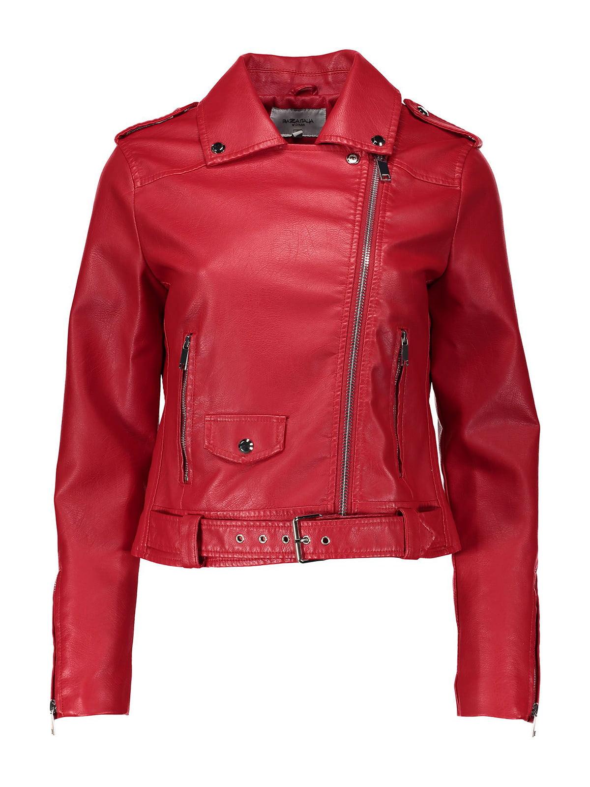 Куртка червона | 4909359 | фото 4