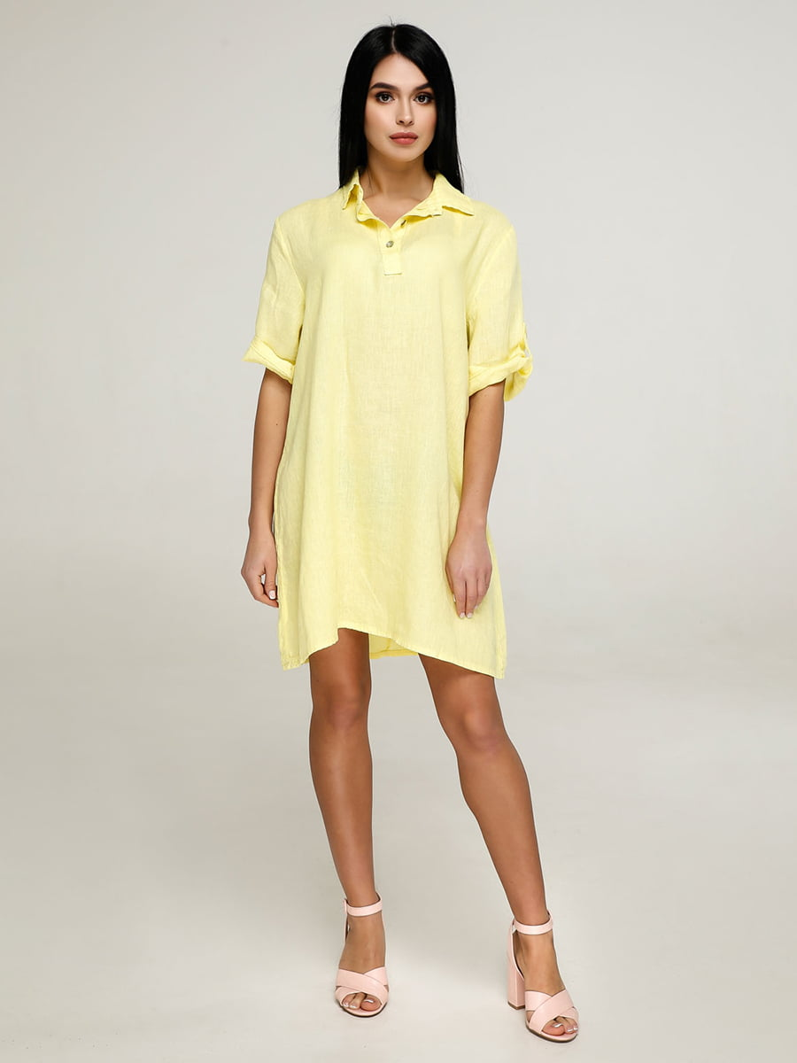Платье желтое | 4911393
