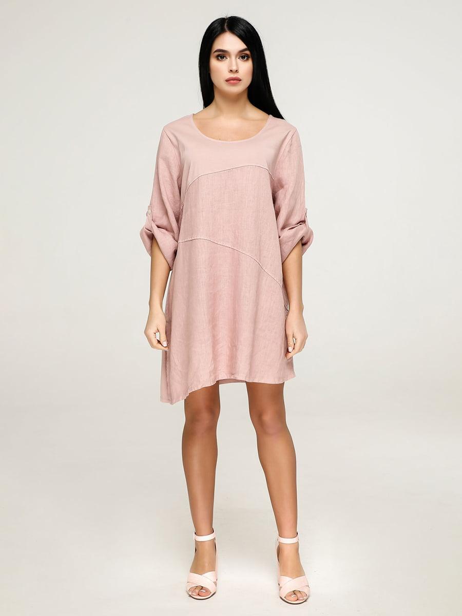 Платье розовое | 4911401