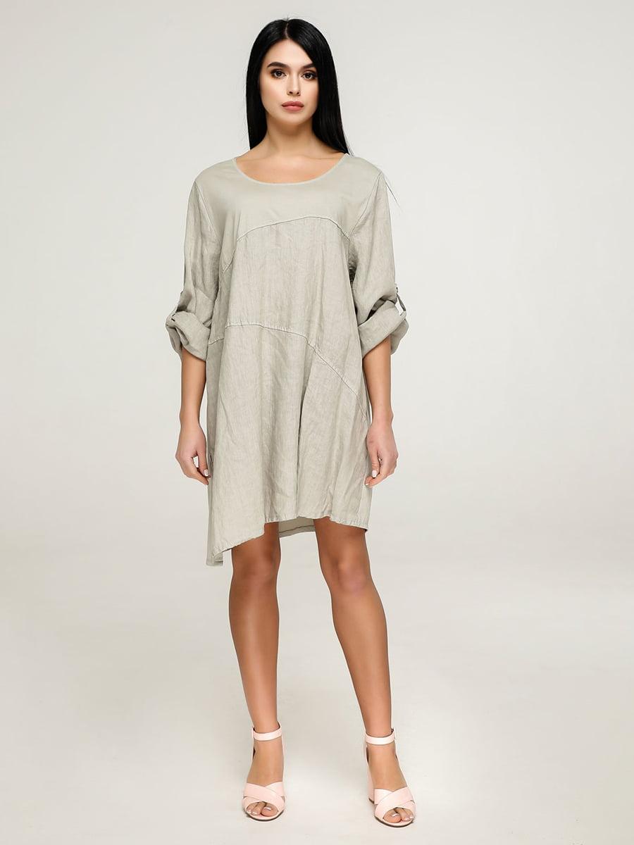 Платье цвета хаки | 4911407
