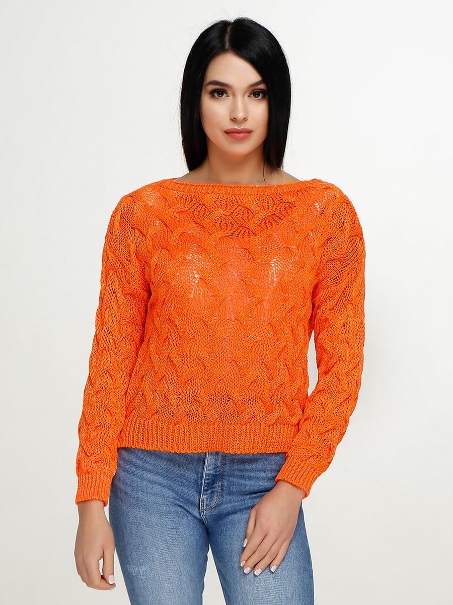 Джемпер оранжевый | 4911412
