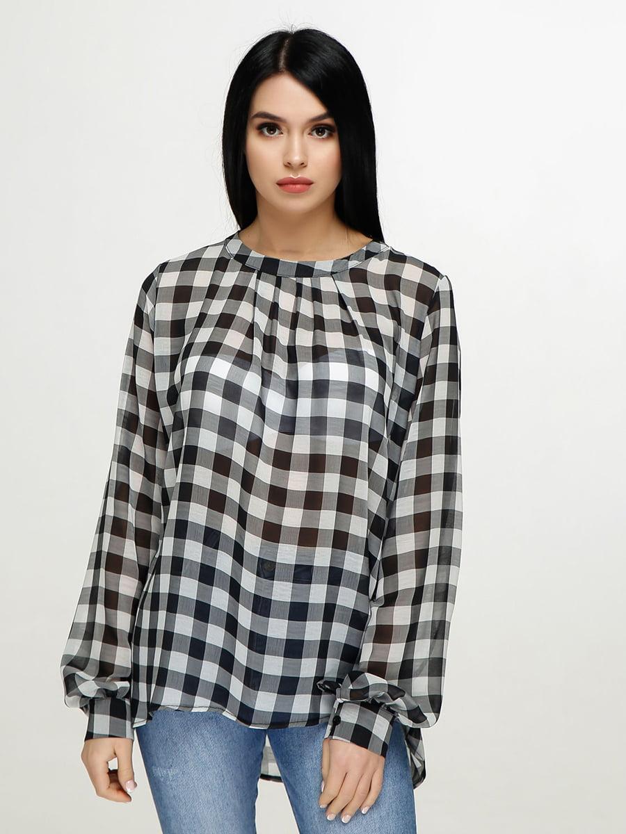 Блуза в клітинку | 4911419