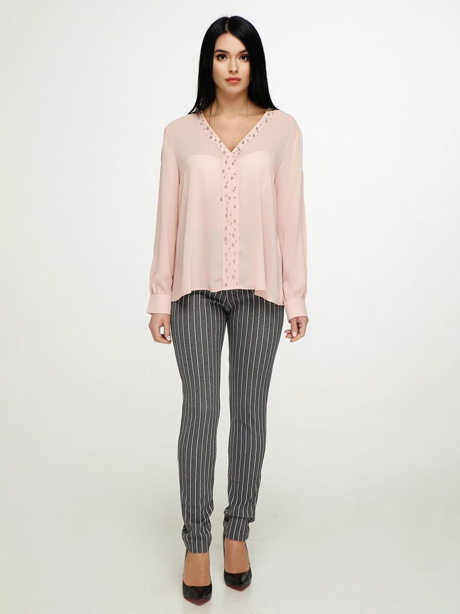 Блуза персикового цвета | 4911424
