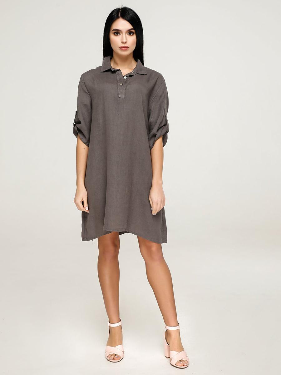 Сукня темно-сіра | 4911426