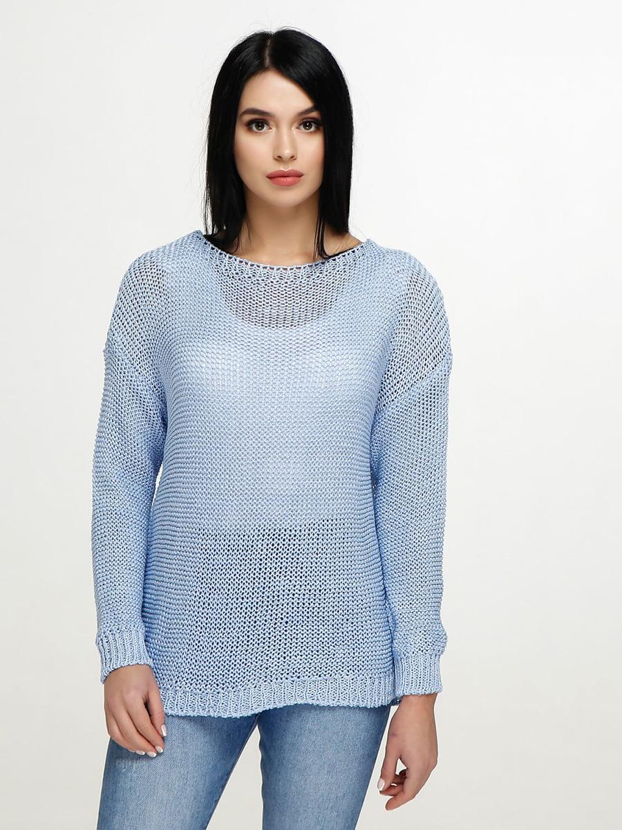 Джемпер голубой   4911429