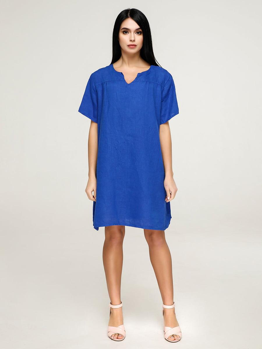 Платье синее | 4911432