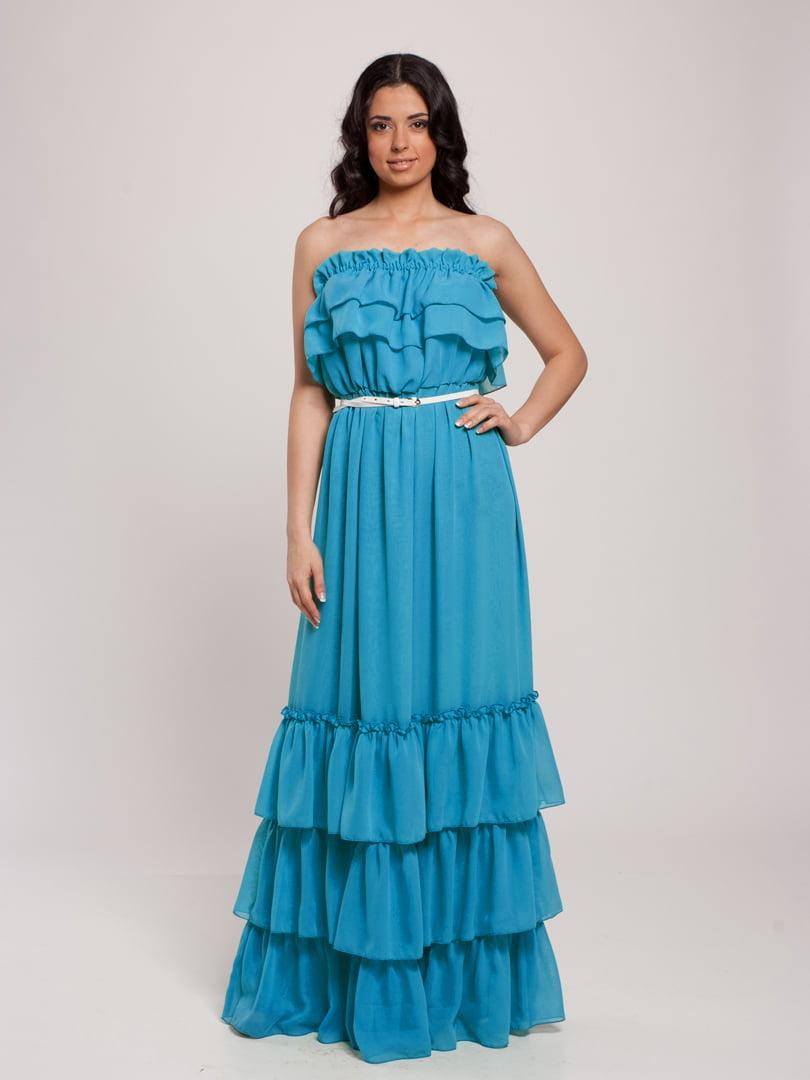 Сукня блакитна | 4910694