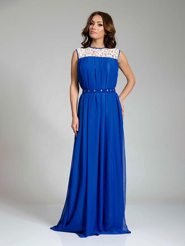Сукня кольору електрик   4910704
