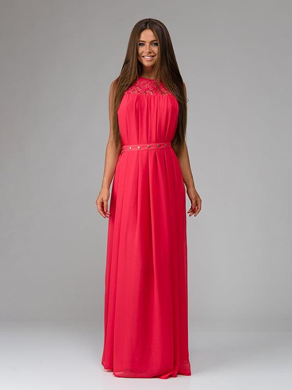 Платье коралловое | 4910711