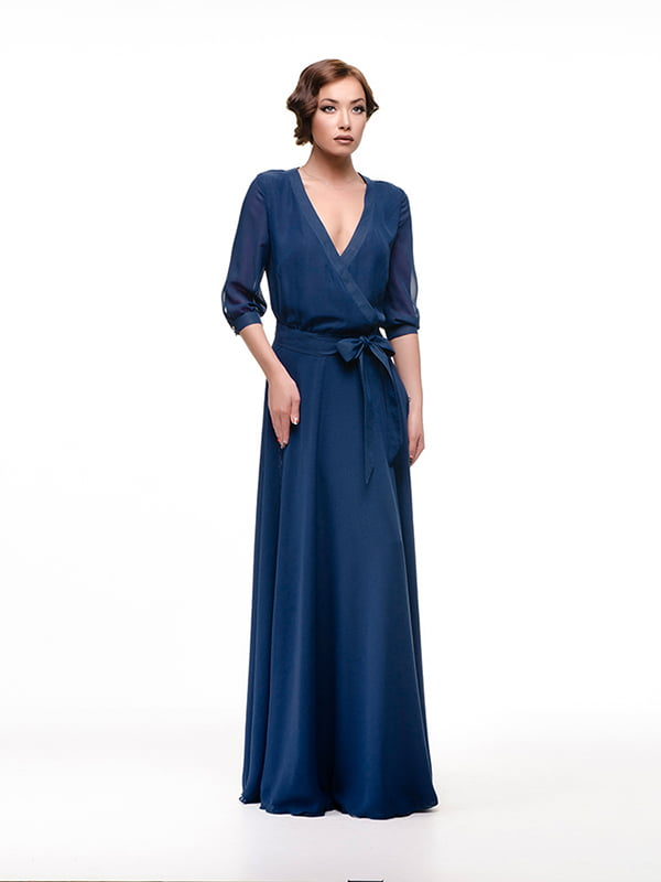 Сукня темно-синя   4910719