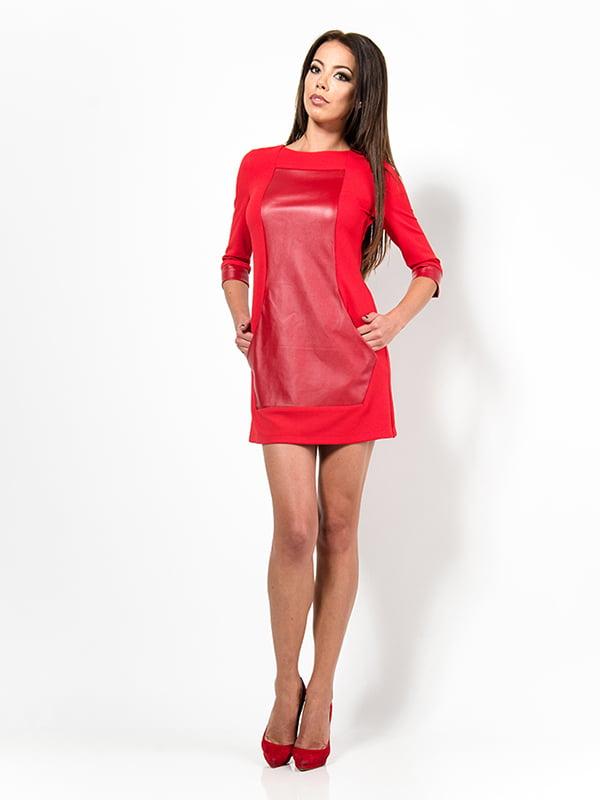 Платье красное | 4910722