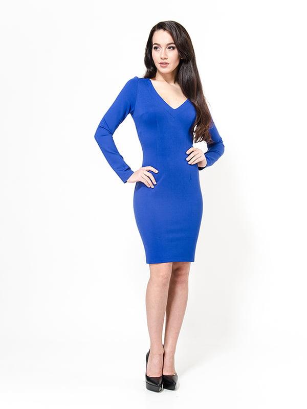 Платье цвета электрик | 4910760
