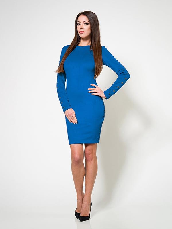 Платье цвета электрик | 4910770