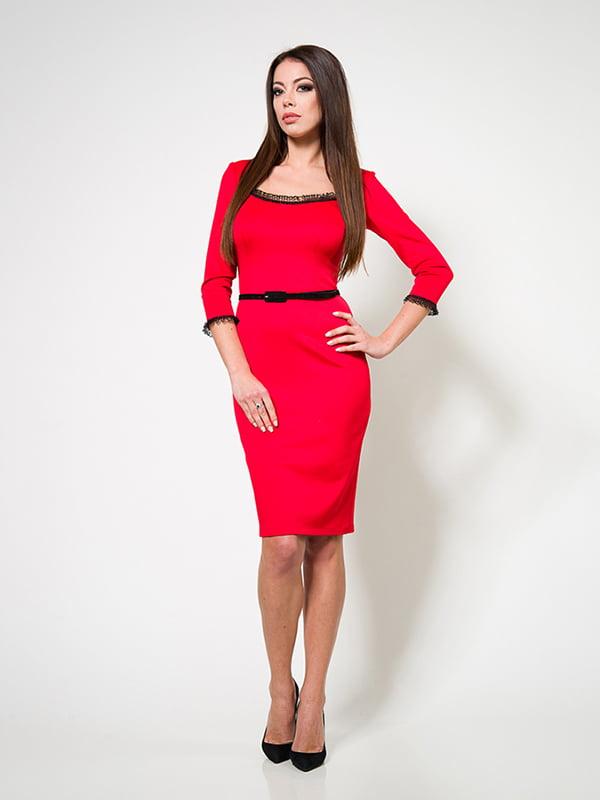 Сукня червона   4910806