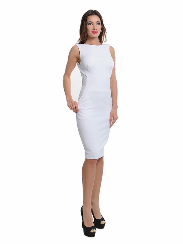 Платье молочного цвета   4910807