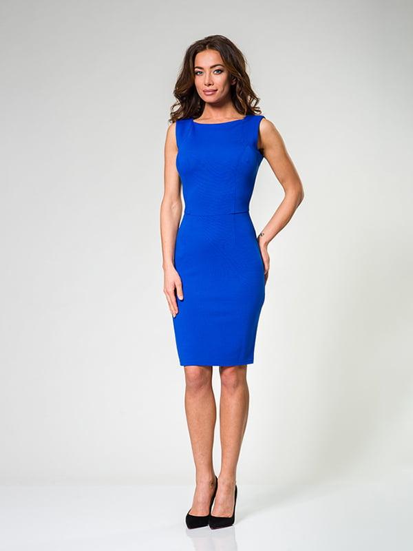 Сукня кольору електрик | 4910824
