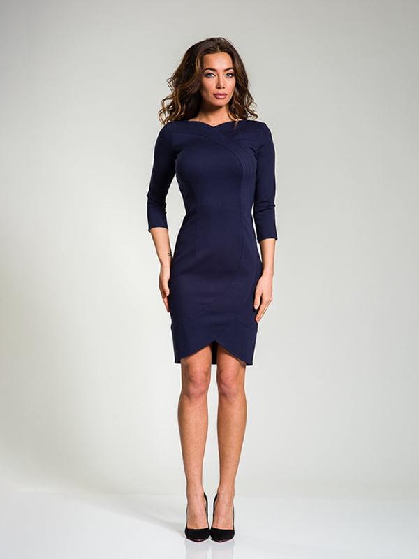 Сукня темно-синя   4910830