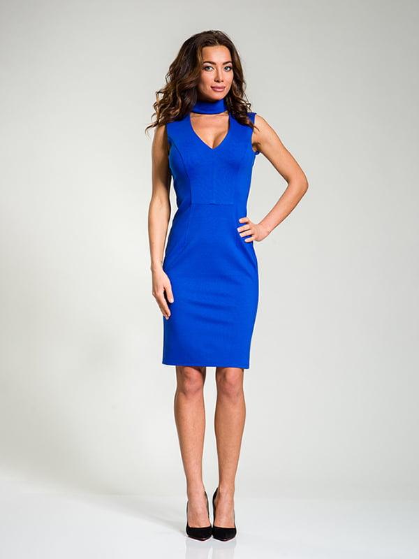 Сукня кольору електрик | 4910833