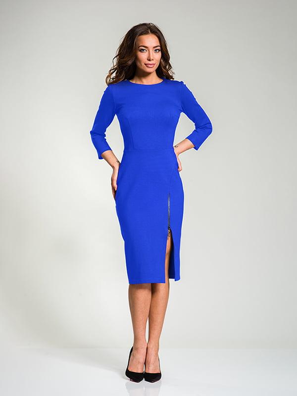 Платье цвета электрик | 4910838