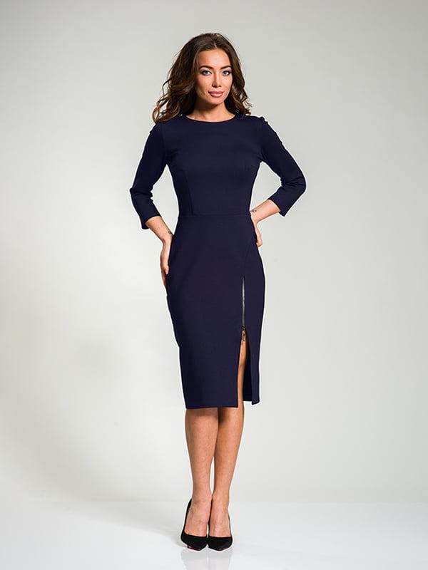 Сукня темно-синя | 4910840