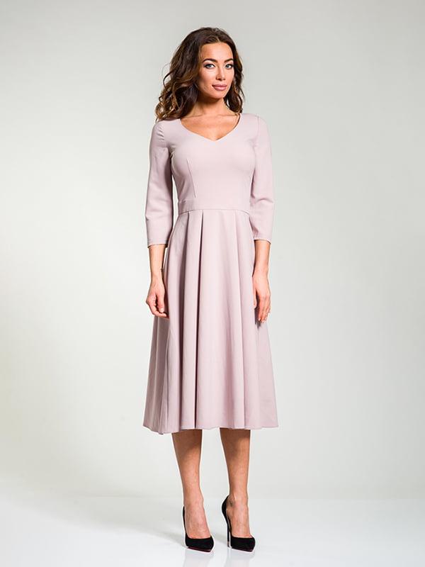 Сукня кольору пудри | 4910847