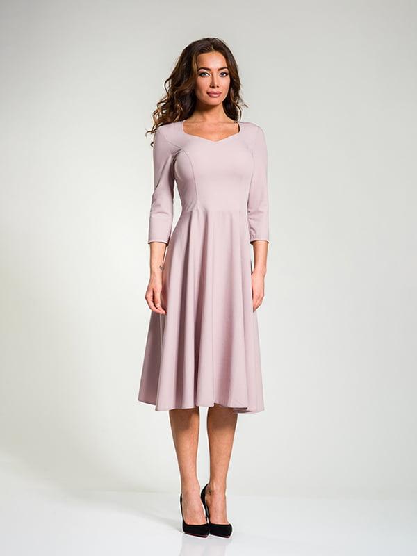 Платье цвета пудры | 4910849