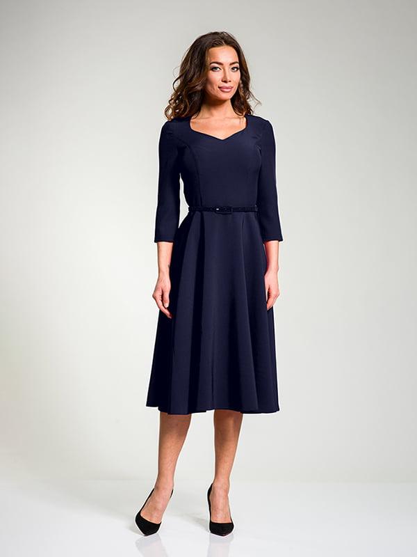 Сукня темно-синя | 4910851