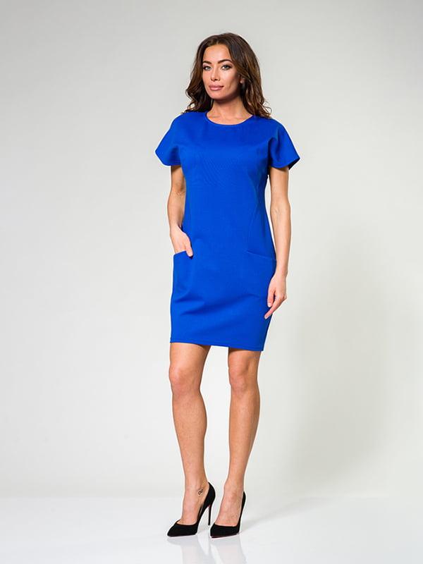 Сукня кольору електрик | 4910866