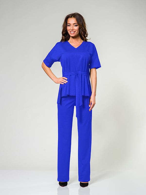 Костюм: блуза і штани   4910868