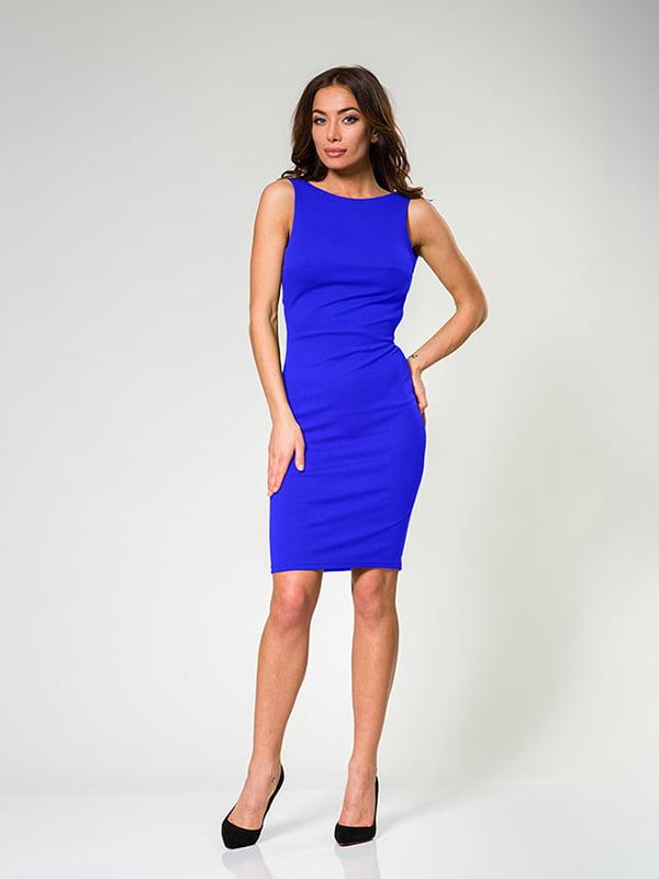 Сукня кольору електрик   4910885