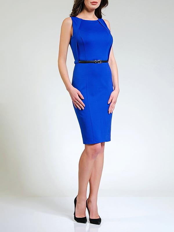 Сукня кольору електрик | 4910976