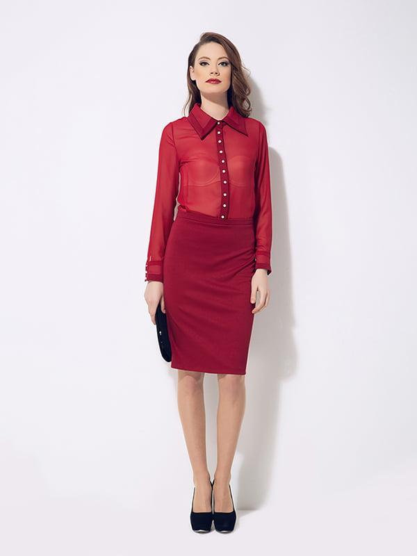 Сукня бордова | 4911022
