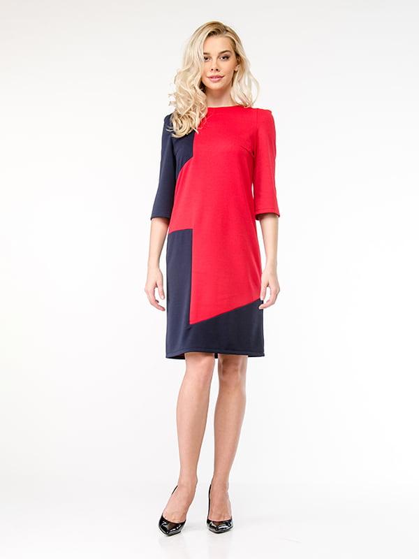 Платье красно-синее | 4911160