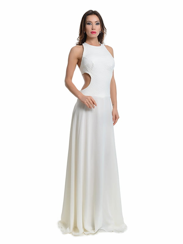 Сукня молочного кольору   4911173