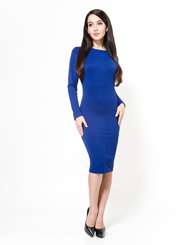 Сукня кольору електрик | 4911195