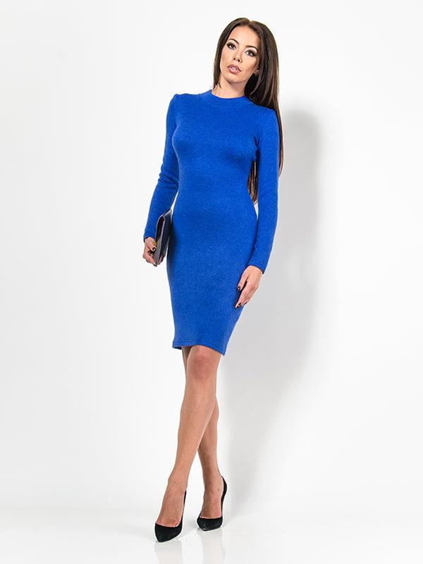 Сукня кольору електрик | 4911197