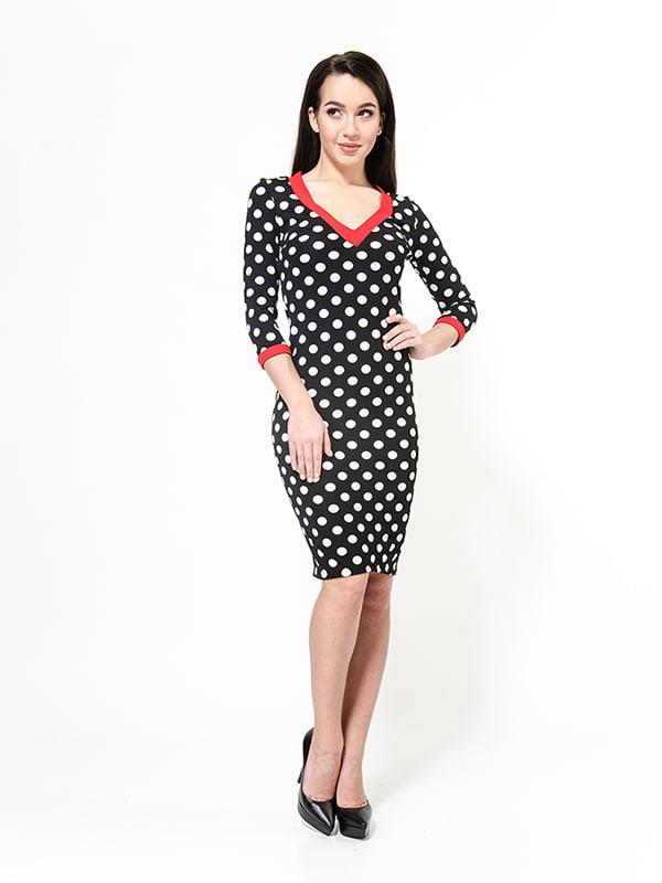Сукня чорна в горошок   4911207