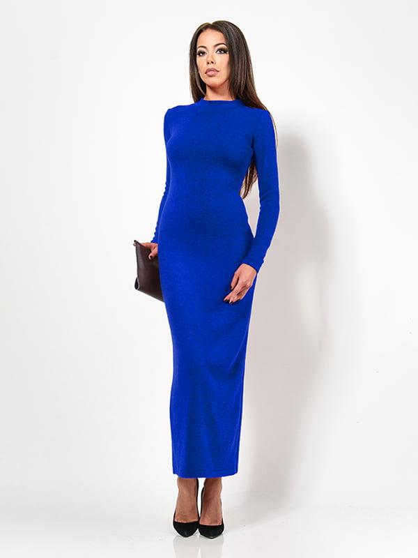 Сукня кольору електрик | 4911208