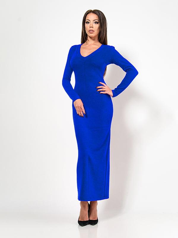Сукня кольору електрик   4911213
