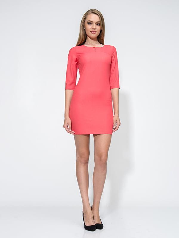 Платье коралловое | 4911248