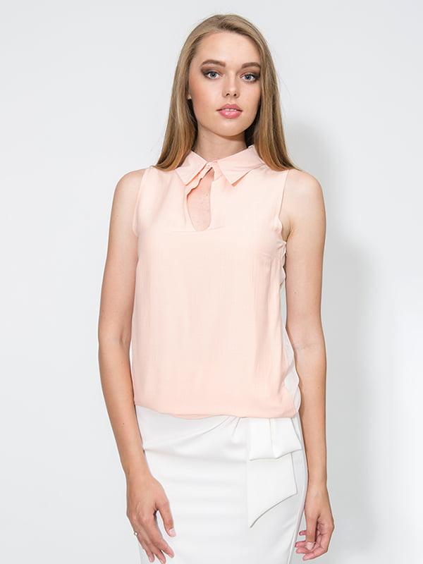 Блуза персикового кольору   4911254