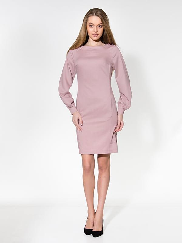 Сукня кольору пудри | 4911270