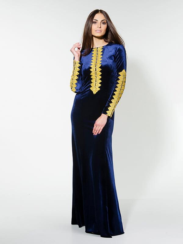 Сукня темно-синя | 4911290