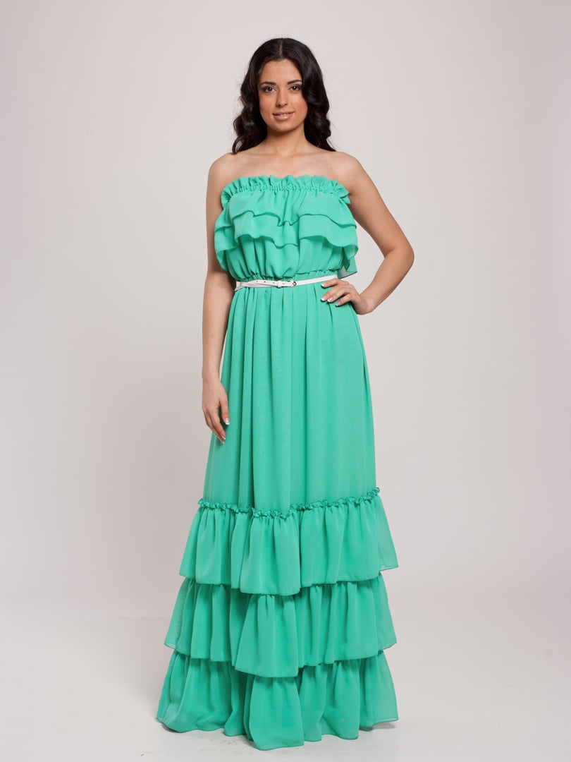 Платье бирюзовое | 4910692
