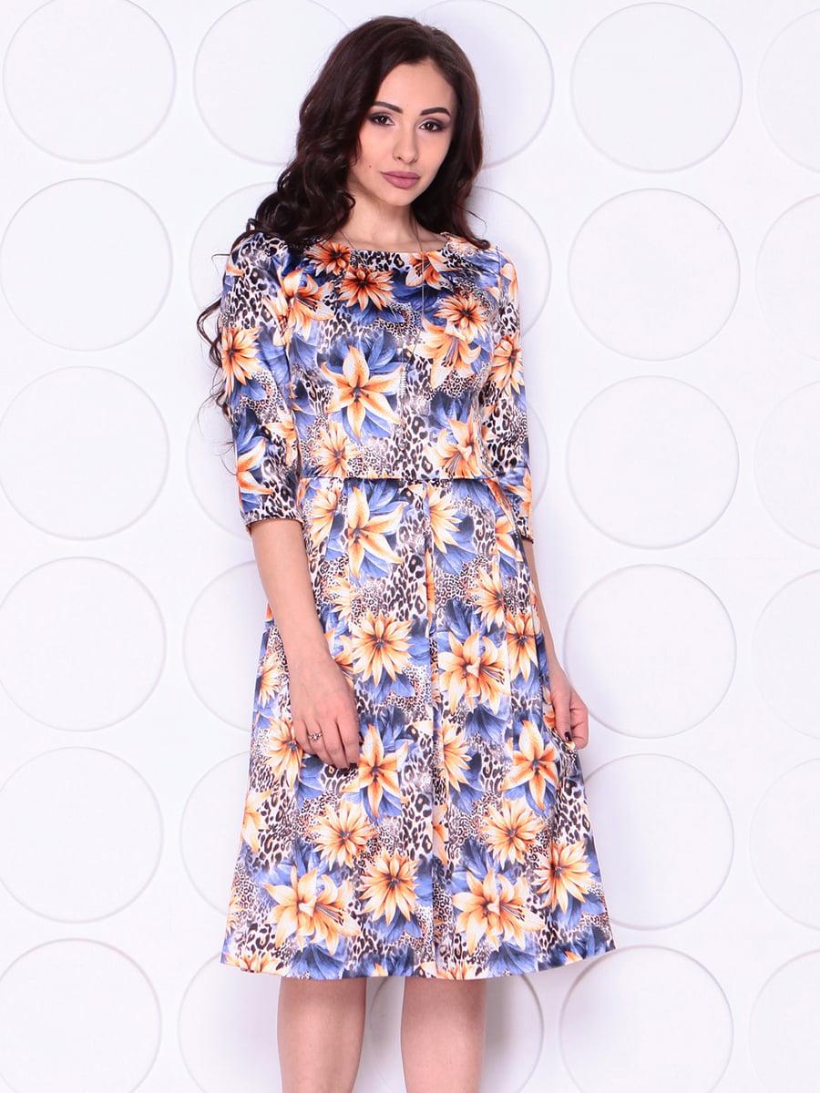 Сукня в квітковий принт   4911457