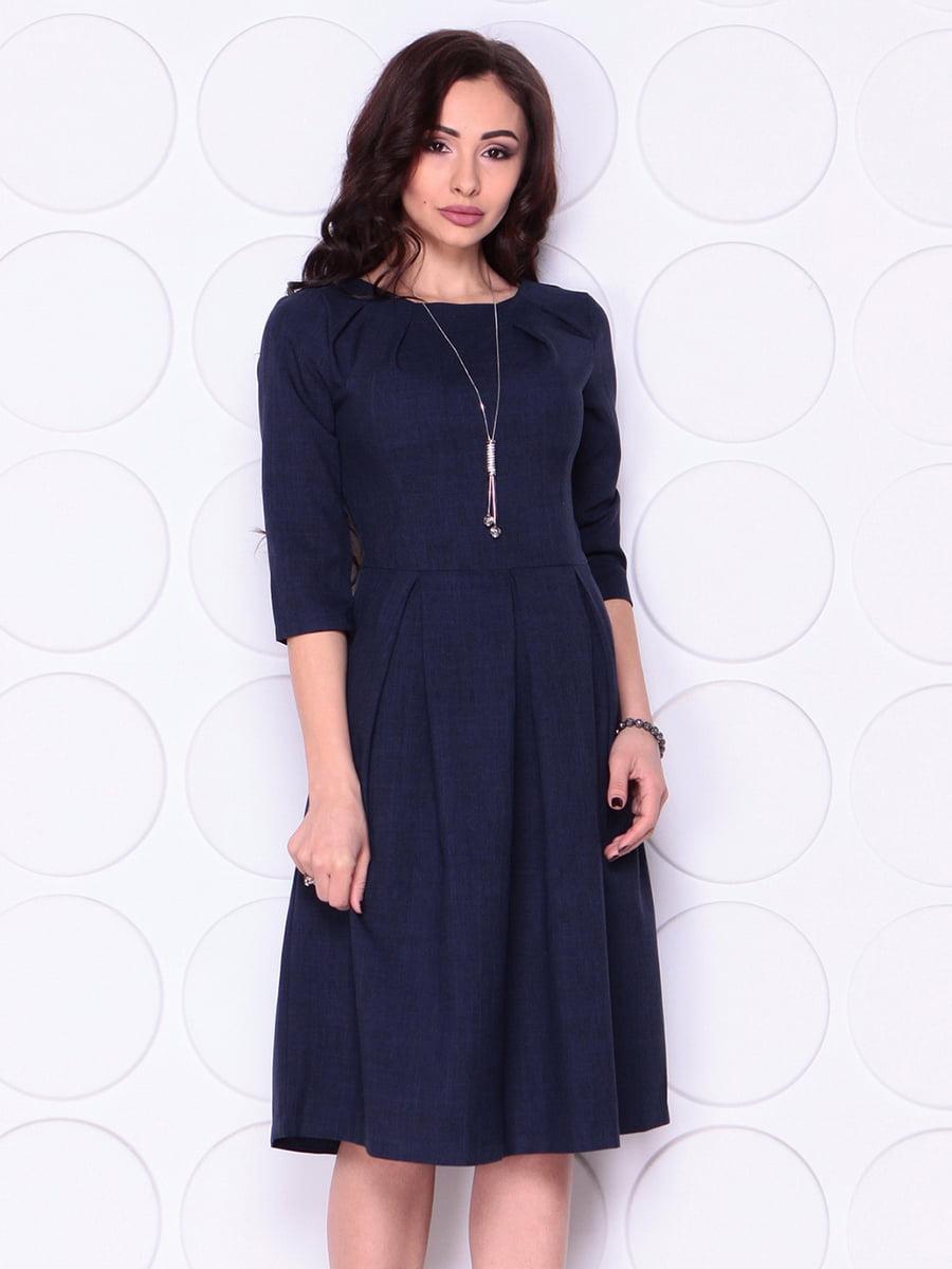 Платье темно-синее | 4911458